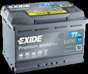77Ah 12V EXIDE Premium