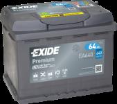 64Ah 12V EXIDE Premium